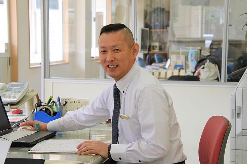 代表取締役兼副管理者 安岡 壯